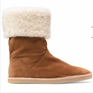 New Stuart Weitzman foldable suede boots 👢